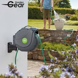 Garden Gear Premium Automatic Rewind Hose  20 Metres