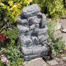 Rockfall Indoor and Outdoor Water Feature