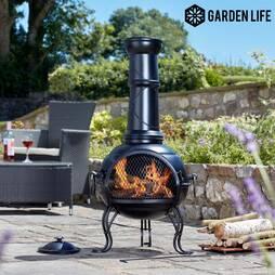 Garden Life Classic Steel Chimenea