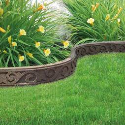 Ecofriendly Flexi Curve Border  12 Pack  Earth