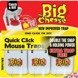 The Big Cheese Quick Click Mouse Traps