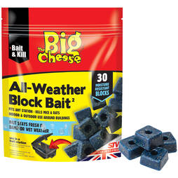 The Big Cheese All Weather Rodent Bait  30 Blocks