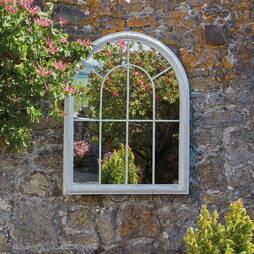 Round Arched Mirror