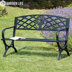 Garden Life Canterbury Park Bench