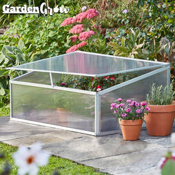 Garden Grow Aluminium Cold Frame with '20 Worth of Vegetable Seeds