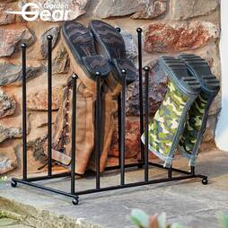 TwoTier Boot Stand  4 Pairs