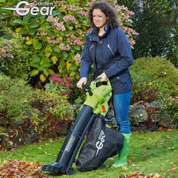 Garden Gear Electric Vacuum Blower with Rake