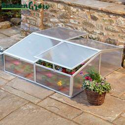 Garden Grow 4Vent Aluminium Cold Frame