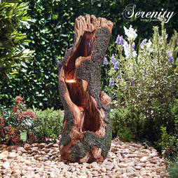 Serenity Tree Trunk Falls Water Feature