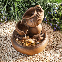 Serenity TableTop Tipping Jugs Water Feature