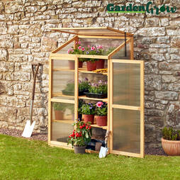 ThreeTier Wooden Cold Frame
