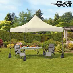 Garden Gear Premium 3x3m PopUp Gazebo  Beige