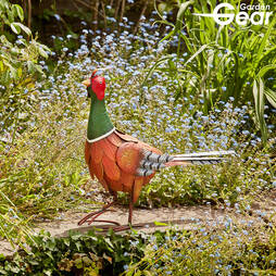 Garden Gear Metal Pheasant Garden Ornament
