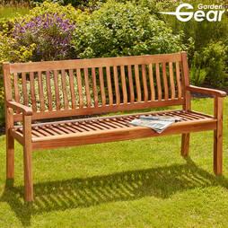 Garden Gear Acacia 3Seater Garden Bench
