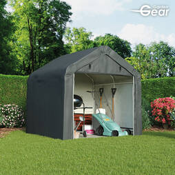 Garden Gear HeavyDuty Portable Shed 6x6 Foot