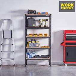 150 x 75 x 30cm Metal Shelves
