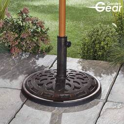 Garden Gear 14kg Parasol Base  Bronze