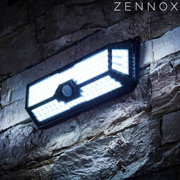 Zennox 136LED Solar Sensor Light