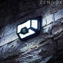 Zennox 66LED Solar Sensor Light