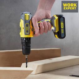 Work Expert 240 Piece 20V Liion Drill Set