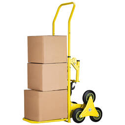 Work Expert 2in1 6Wheeled Trolley Cart