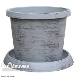 Modern Grey Patio Pot