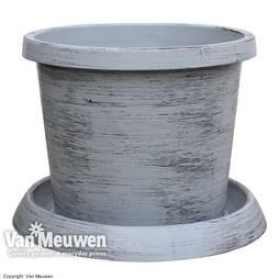 Modern Grey Patio Pot