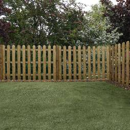 Palisade 1220mm  Rounded Top  Pressure Treated