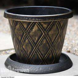Stylish Patio Pot