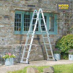 Work Expert 4x3 Metre MultiPurpose Ladder