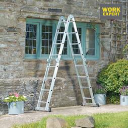 Work Expert 4x4 Metre MultiPurpose Ladder