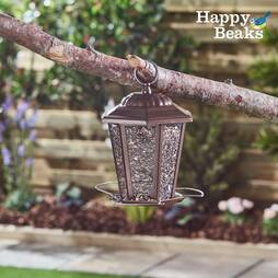 Happy Beaks CarriageStyle Lantern Seed Feeder