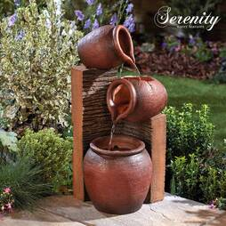 Serenity Tipping Pots Water Feature