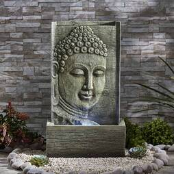 Serenity Buddha Water Wall Feature