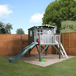 Rose Tower Playhouse & Slide