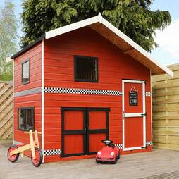 8x6  Garage Playhouse