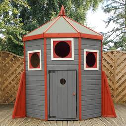 6x6  Rocket Playhouse