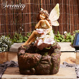 Serenity Solar Tatianna Fairy Cascade Water Feature