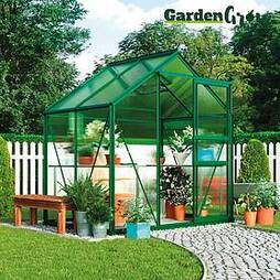 Garden Grow Traditional Greenhouse 6.2 X 4.3 X 6.6ft