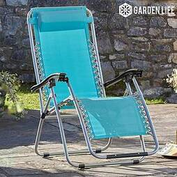 Garden Gear Zero Gravity Chair - Marine Blue