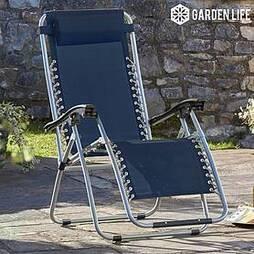 Garden Gear Zero Gravity Chair - Navy