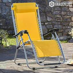 Garden Gear Zero Gravity Chair - Sunburst