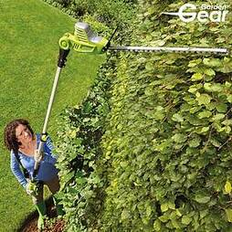 Garden Gear 20V Cordless Lithium-ion Telescopic Hedge Trimmer
