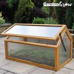 Garden Grow Wooden Cold Frame