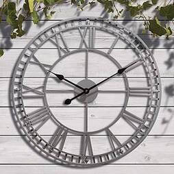 Roman Numeral Garden Wall Clock