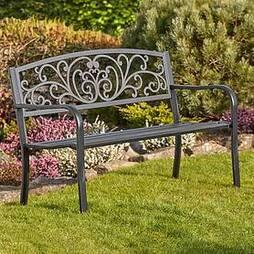 Garden Life Henley Metal Garden Bench