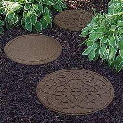 Reversible Eco-Friendly Stepping Stone Scroll - Single Unit