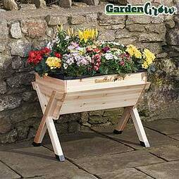 Garden Grow by BVG Group Ltd Wooden Planter - Medium