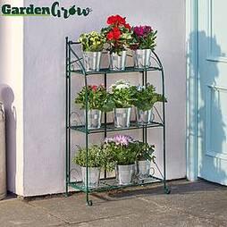 Three-tier Highbury Folding Metal Plant Stand