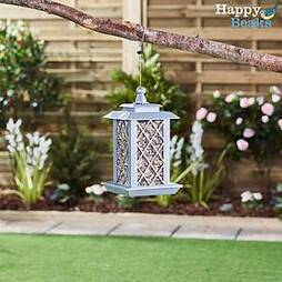 Happy Beaks Small Lantern Bird Feeder